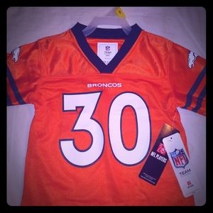 Philip Lindsay Denver Broncos Toddler Jersey 3t
